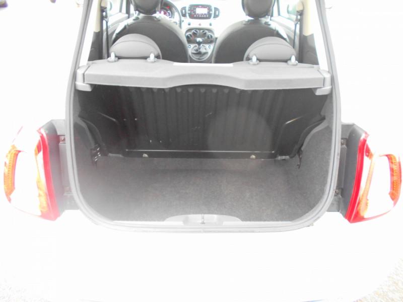 Fiat 500 500 1.2 69 ch Lounge Blanc occasion à Bessières - photo n°2