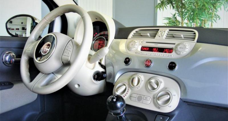 Fiat 500 500 II 1.2 8V 70ch LOUNGE BVM5 Gris occasion à UNGERSHEIM - photo n°7