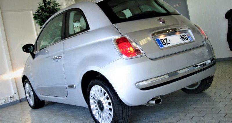 Fiat 500 500 II 1.2 8V 70ch LOUNGE BVM5 Gris occasion à UNGERSHEIM - photo n°6