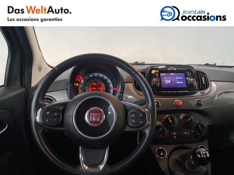 Fiat 500 500C 1.2 69 ch Lounge 2p Gris occasion à Seynod - photo n°11