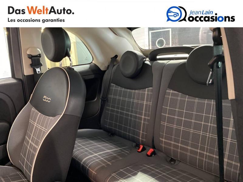 Fiat 500 500C 1.2 69 ch Lounge 2p Gris occasion à Seynod - photo n°17