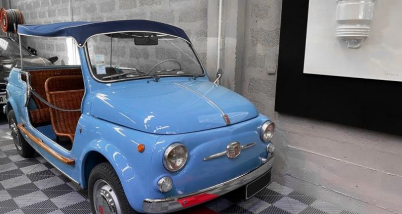 Fiat 500 FIAT 500 JOLLY GHIA GIARDINIERA Bleu occasion à SAINT LAURENT DU VAR