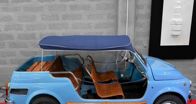 Fiat 500 FIAT 500 JOLLY GHIA GIARDINIERA Bleu occasion à SAINT LAURENT DU VAR - photo n°2