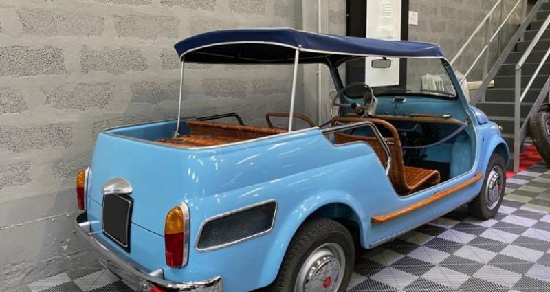 Fiat 500 FIAT 500 JOLLY GHIA GIARDINIERA Bleu occasion à SAINT LAURENT DU VAR - photo n°3