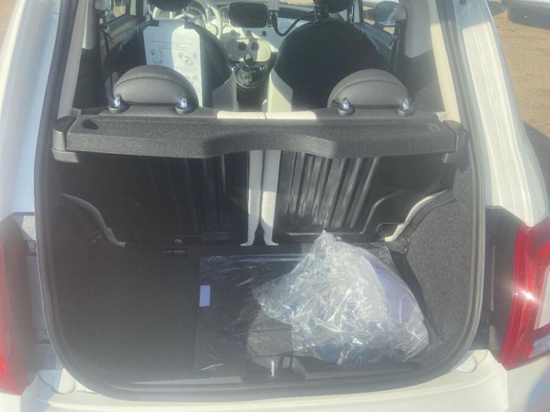 Fiat 500 Hybrid 1.0 BSG 70 DOLCEVITA Clim Auto Toit Pano. Radars Recu Blanc occasion à Toulouse - photo n°6