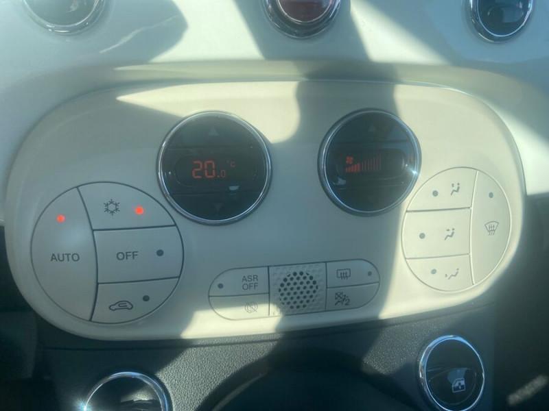 Fiat 500 Hybrid 1.0 BSG 70 DOLCEVITA Clim Auto Toit Pano. Radars Recu Blanc occasion à Toulouse - photo n°11