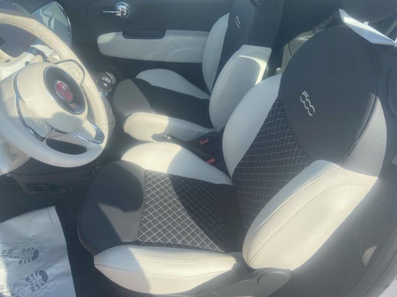Fiat 500 Hybrid 1.0 BSG 70 DOLCEVITA Clim Auto Toit Pano. Radars Recu Blanc occasion à Toulouse - photo n°3