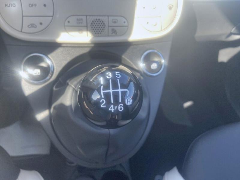 Fiat 500 Hybrid 1.0 BSG 70 DOLCEVITA Clim Auto Toit Pano. Radars Recu Blanc occasion à Toulouse - photo n°16