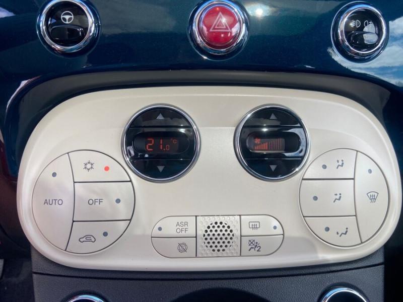 Fiat 500 Hybrid 1.0 BSG 70 DOLCEVITA Clim Auto Toit Pano. Radars Recu Bleu occasion à Montauban - photo n°16