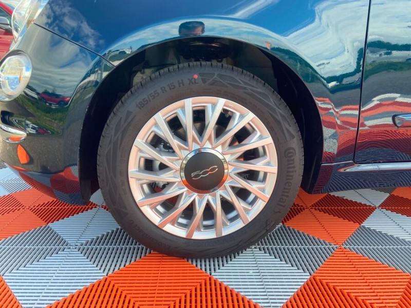 Fiat 500 Hybrid 1.0 BSG 70 DOLCEVITA Clim Auto Toit Pano. Radars Recu Bleu occasion à Montauban - photo n°7