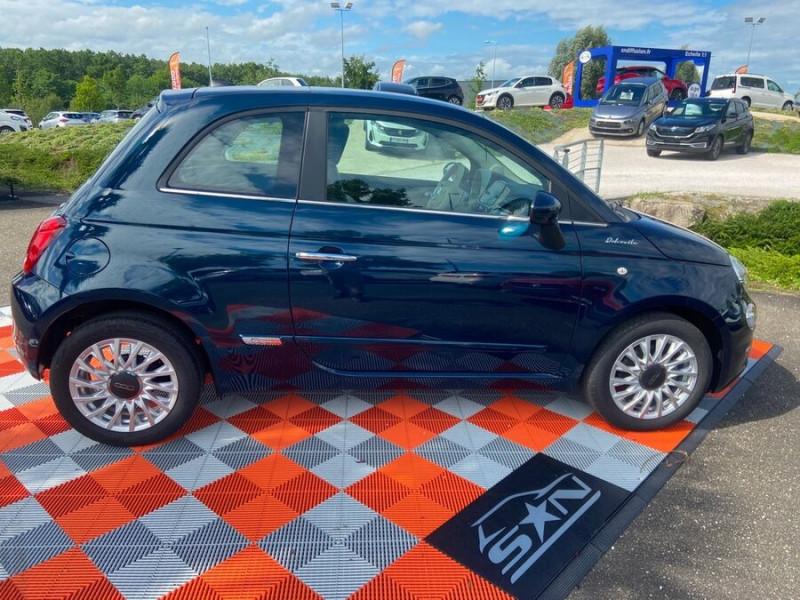 Fiat 500 Hybrid 1.0 BSG 70 DOLCEVITA Clim Auto Toit Pano. Radars Recu Bleu occasion à Montauban - photo n°5