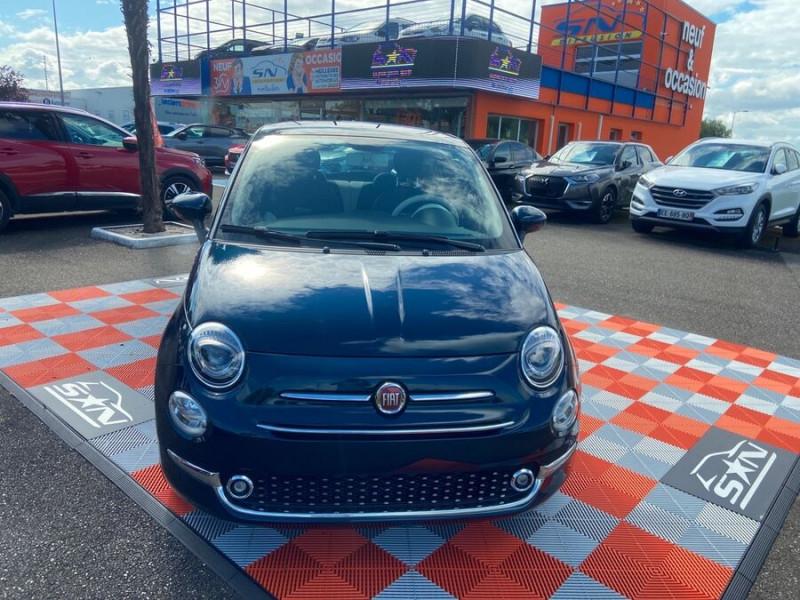 Fiat 500 Hybrid 1.0 BSG 70 DOLCEVITA Clim Auto Toit Pano. Radars Recu Bleu occasion à Montauban