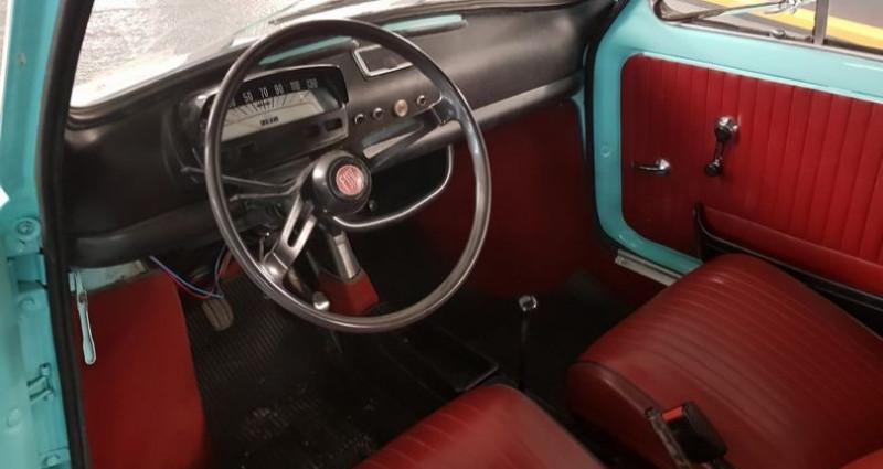 Fiat 500 L Bleu occasion à Neuilly-sur-Seine - photo n°4