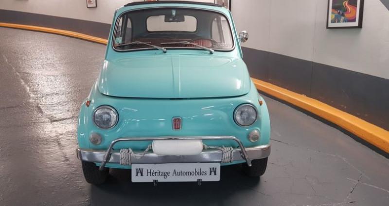 Fiat 500 L Bleu occasion à Neuilly-sur-Seine - photo n°3
