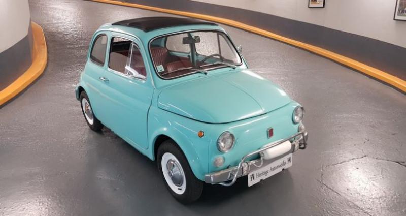 Fiat 500 L Bleu occasion à Neuilly-sur-Seine - photo n°2