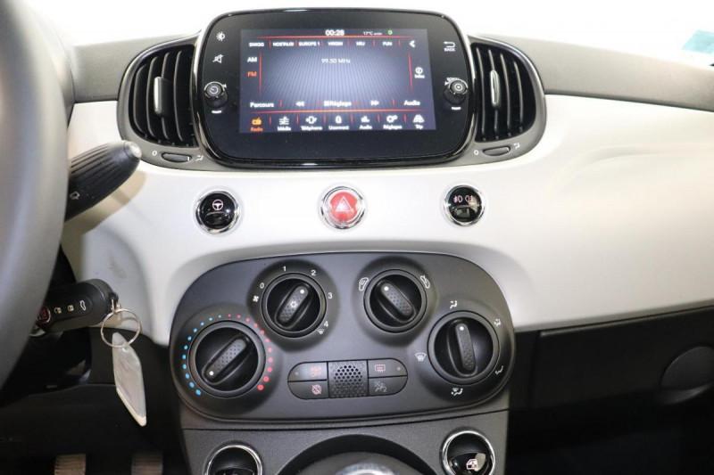 Fiat 500 MY20 SERIE 7 EURO 6D 1.2 69 ch Eco Pack S/S Star  occasion à Semécourt - photo n°11