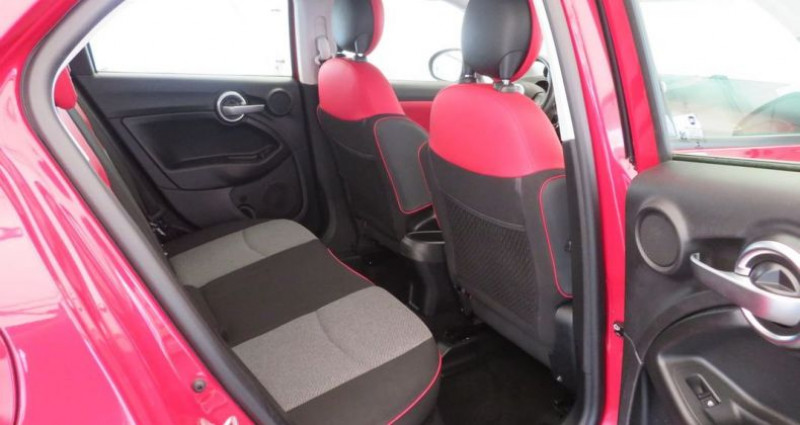 Fiat 500 x 1.6 multijet 120 popstar 4x2 Rouge occasion à VILLE LA GRAND - photo n°5