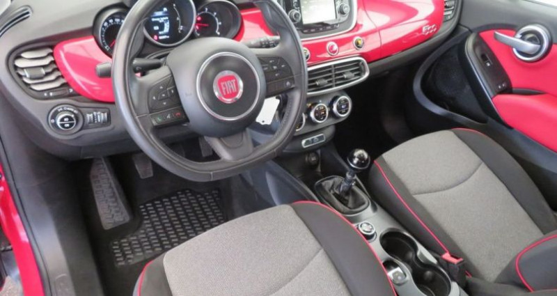 Fiat 500 x 1.6 multijet 120 popstar 4x2 Rouge occasion à VILLE LA GRAND - photo n°4