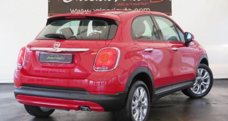 Fiat 500 x 1.6 multijet 120 popstar 4x2 Rouge occasion à VILLE LA GRAND - photo n°3
