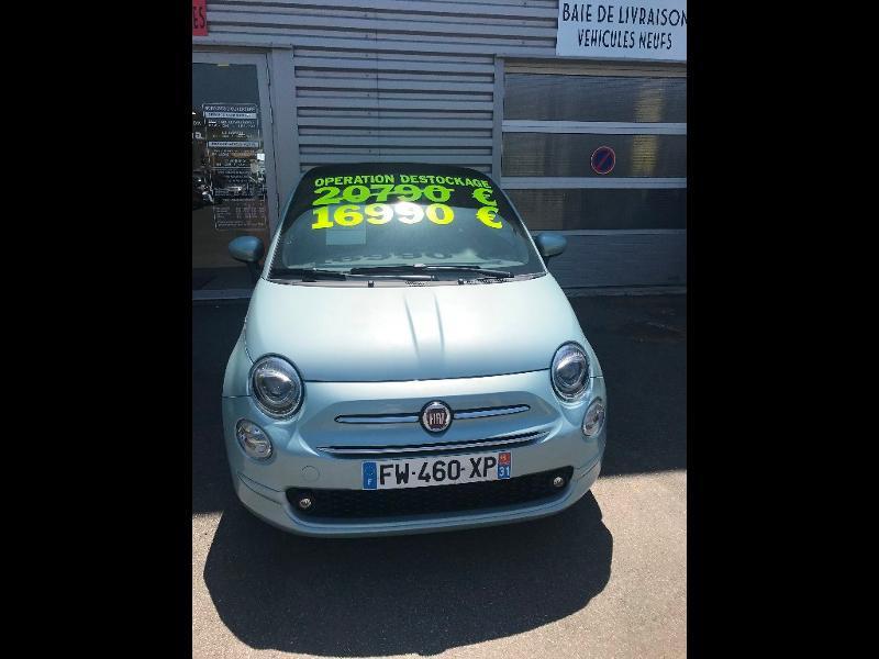 Fiat 500C 1.0 70CH LUNCH EDITION Vert occasion à Muret