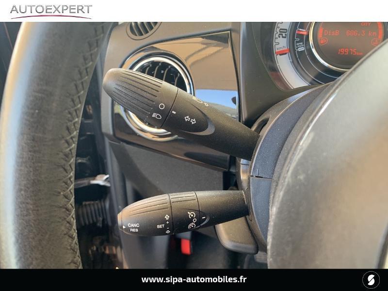 Fiat 500C 1.2 8v 69ch Lounge Noir occasion à Le Bouscat - photo n°18