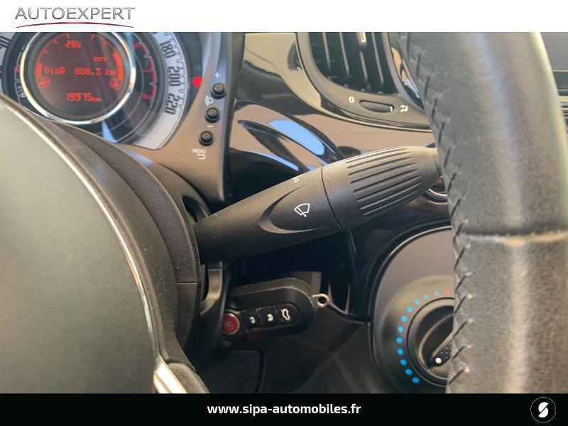 Fiat 500C 1.2 8v 69ch Lounge Noir occasion à Le Bouscat - photo n°19