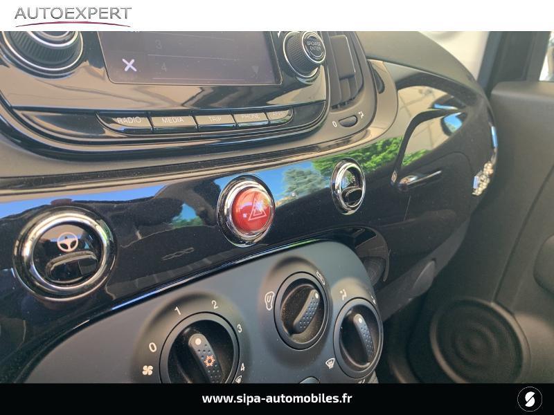 Fiat 500C 1.2 8v 69ch Lounge Noir occasion à Le Bouscat - photo n°20