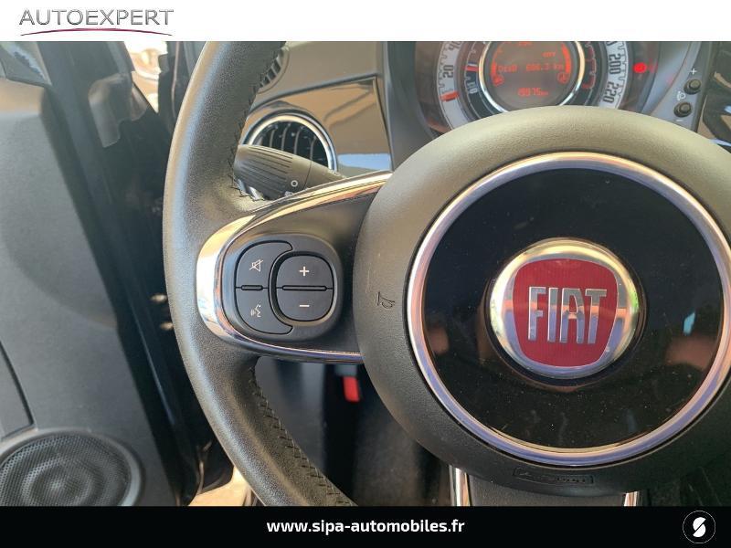 Fiat 500C 1.2 8v 69ch Lounge Noir occasion à Le Bouscat - photo n°16