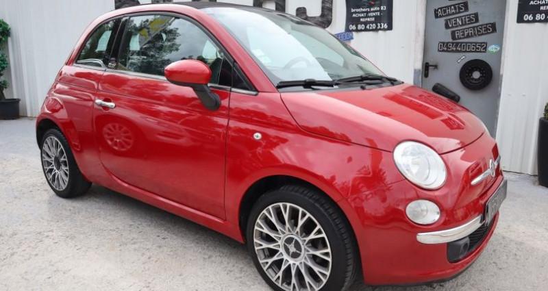 Fiat 500C 1.2 8V 69CH S&S LOUNGE Rouge occasion à Le Muy - photo n°7
