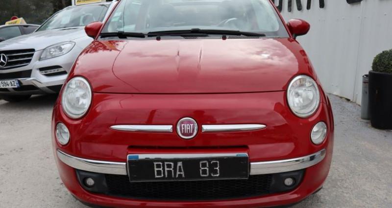 Fiat 500C 1.2 8V 69CH S&S LOUNGE Rouge occasion à Le Muy - photo n°2