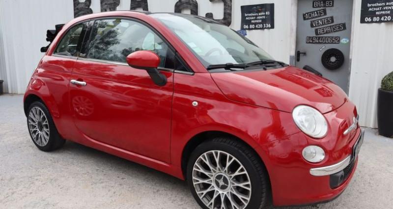 Fiat 500C 1.2 8V 69CH S&S LOUNGE Rouge occasion à Le Muy