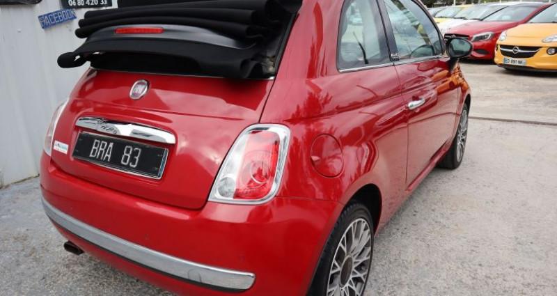Fiat 500C 1.2 8V 69CH S&S LOUNGE Rouge occasion à Le Muy - photo n°4