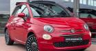Fiat 500C 1.2i Lounge - Cabrio - Radar AR - Grand Ecran... Rouge à Châtelet 62
