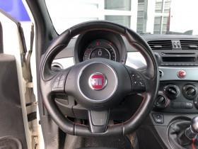 Fiat 500C 1.3 JTD 75cv 3P FAP SPORT CAB + RADAR DE RECUL Blanc occasion à Biganos - photo n°6