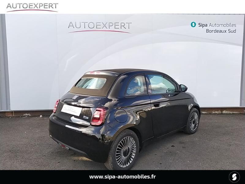 Fiat 500C e 118ch France Edition Noir occasion à Villenave-d'Ornon - photo n°2