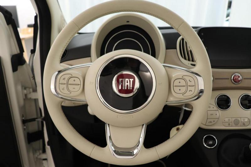 Fiat 500C SERIE 8 EURO 6D-TEMP 1.0 70 ch Hybride BSG S/S Dolcevita Hyb  occasion à Toulouse - photo n°10