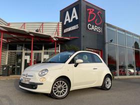 Fiat 500C Blanc, garage BS CARS.COM à Castelmaurou