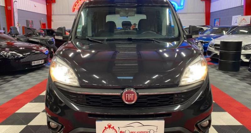 Fiat Doblo 1.6 m-jet break Noir occasion à Brie-Comte-Robert