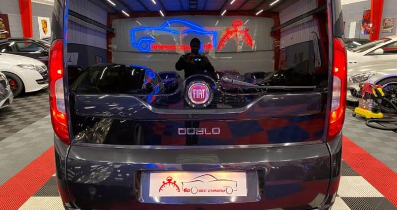 Fiat Doblo 1.6 m-jet break Noir occasion à Brie-Comte-Robert - photo n°3