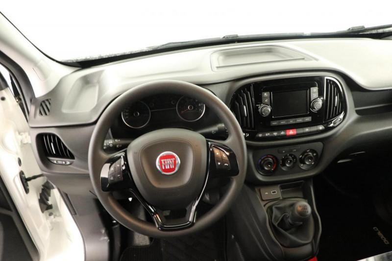 Fiat Doblo CARGO EURO 6D-TEMP FT 1.6 MULTIJET 105 PACK Blanc occasion à Tourville-la-Rivière - photo n°4