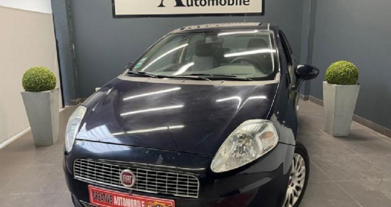 Fiat Grande Punto 1.3 Multijet 75 CV Dynamic Bleu occasion à COURNON D'AUVERGNE