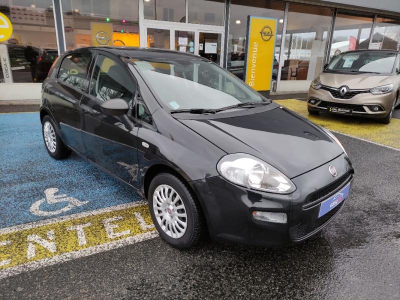 Fiat Punto 1.2 8v 69ch Easy 5p Noir occasion à Corbeil-Essonnes - photo n°5