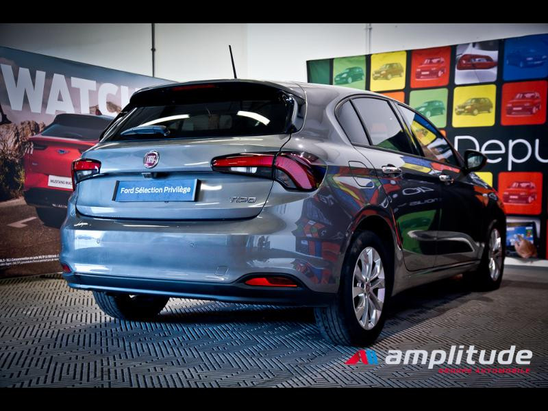 Fiat Tipo 1.6 MultiJet 120ch Easy S/S DCT 5p  occasion à Dijon - photo n°6