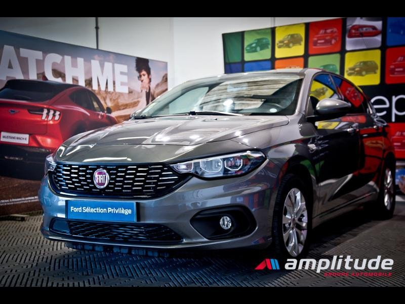 Fiat Tipo 1.6 MultiJet 120ch Easy S/S DCT 5p  occasion à Dijon - photo n°3