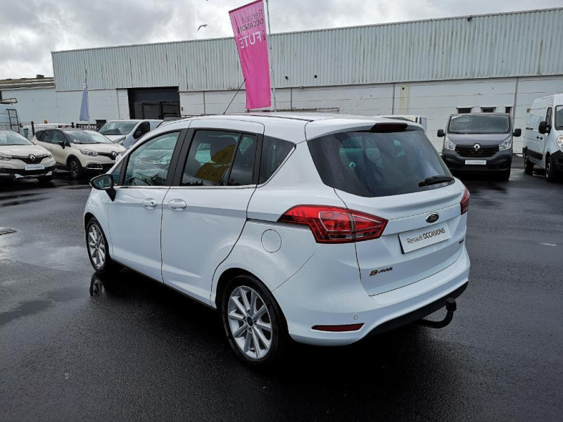 Ford B-Max 1.0 ecoboost 125 s Blanc occasion à Saint-Malo - photo n°2