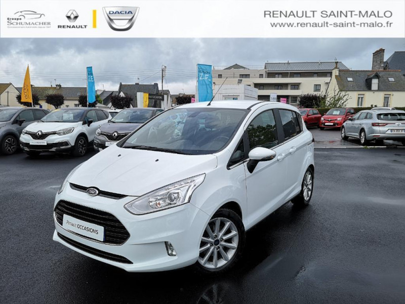 Ford B-Max 1.0 ecoboost 125 s Blanc occasion à Saint-Malo