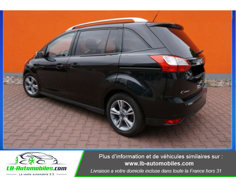 Ford C-Max 1.0 Ecoboost 125 ch Noir occasion à Beaupuy - photo n°4