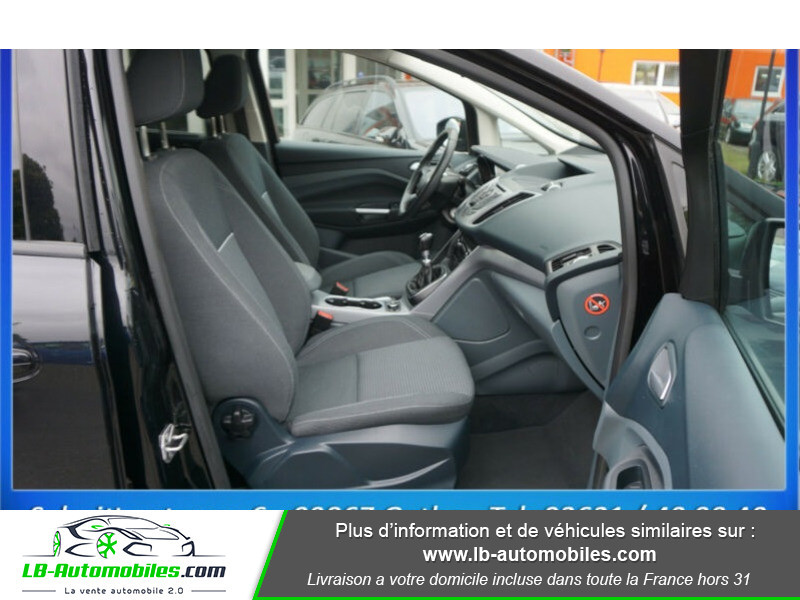 Ford C-Max 1.0 Ecoboost 125 ch Noir occasion à Beaupuy - photo n°6