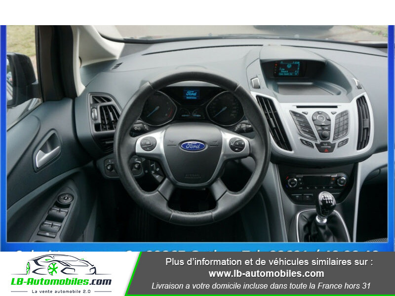 Ford C-Max 1.0 Ecoboost 125 ch Noir occasion à Beaupuy - photo n°10