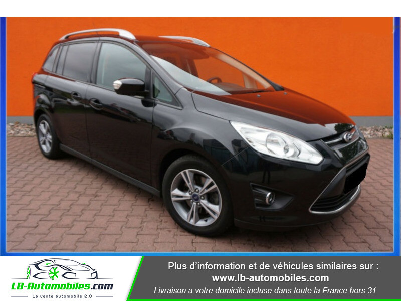 Ford C-Max 1.0 Ecoboost 125 ch Noir occasion à Beaupuy - photo n°2